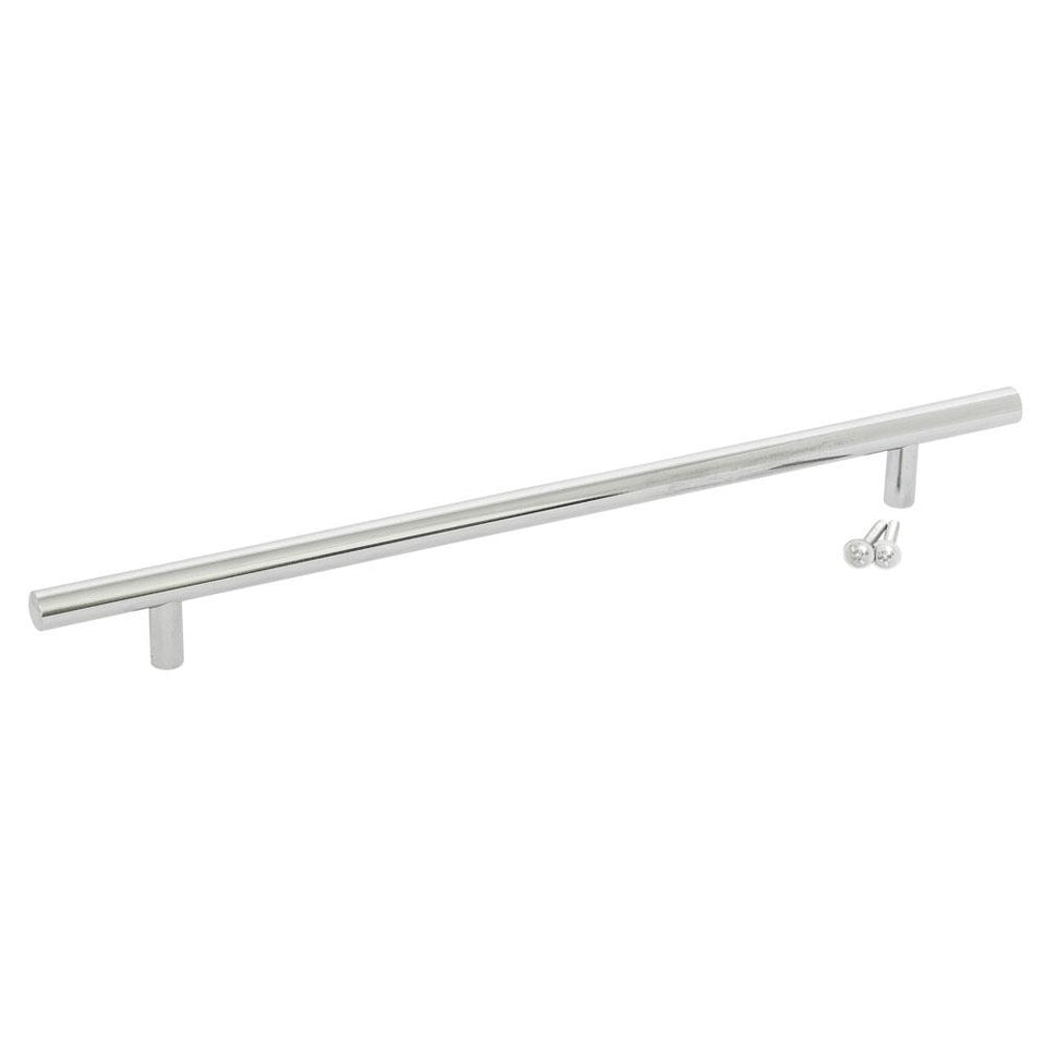DIY & Tools - Cupboard Door Handle Polished Chrome 318mm