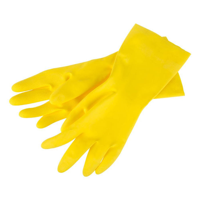 Spontex Specialist Reusable Cleaning Gloves - 6 Pairs - Natural Rubber - Medium