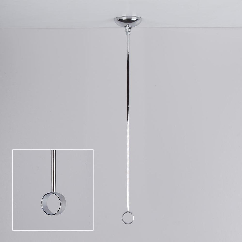 "Bathroom -  Shower Rail Polished Chrome 18"" / 45cm"