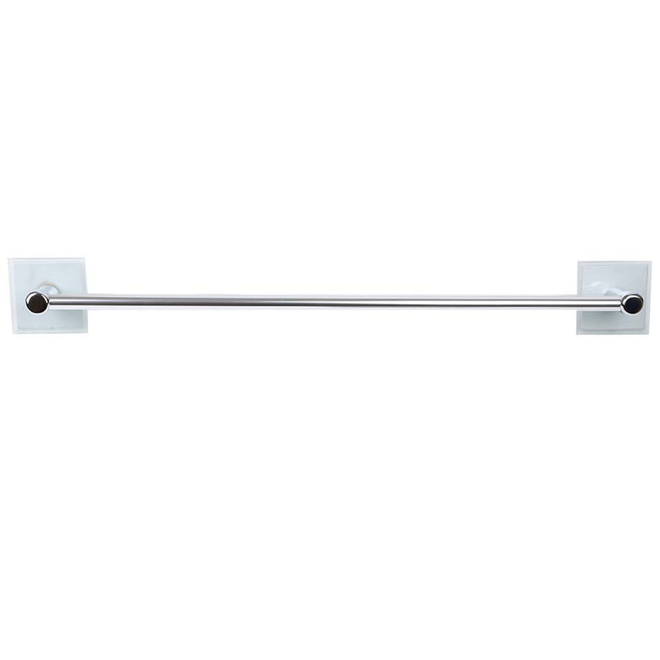 "Bathroom - Wall Mounted Towel Bar Holder 24"" Polished Chrome"