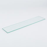 "Bathroom - Modern Glass Shelf - Chrome - 22"" / 56cm"