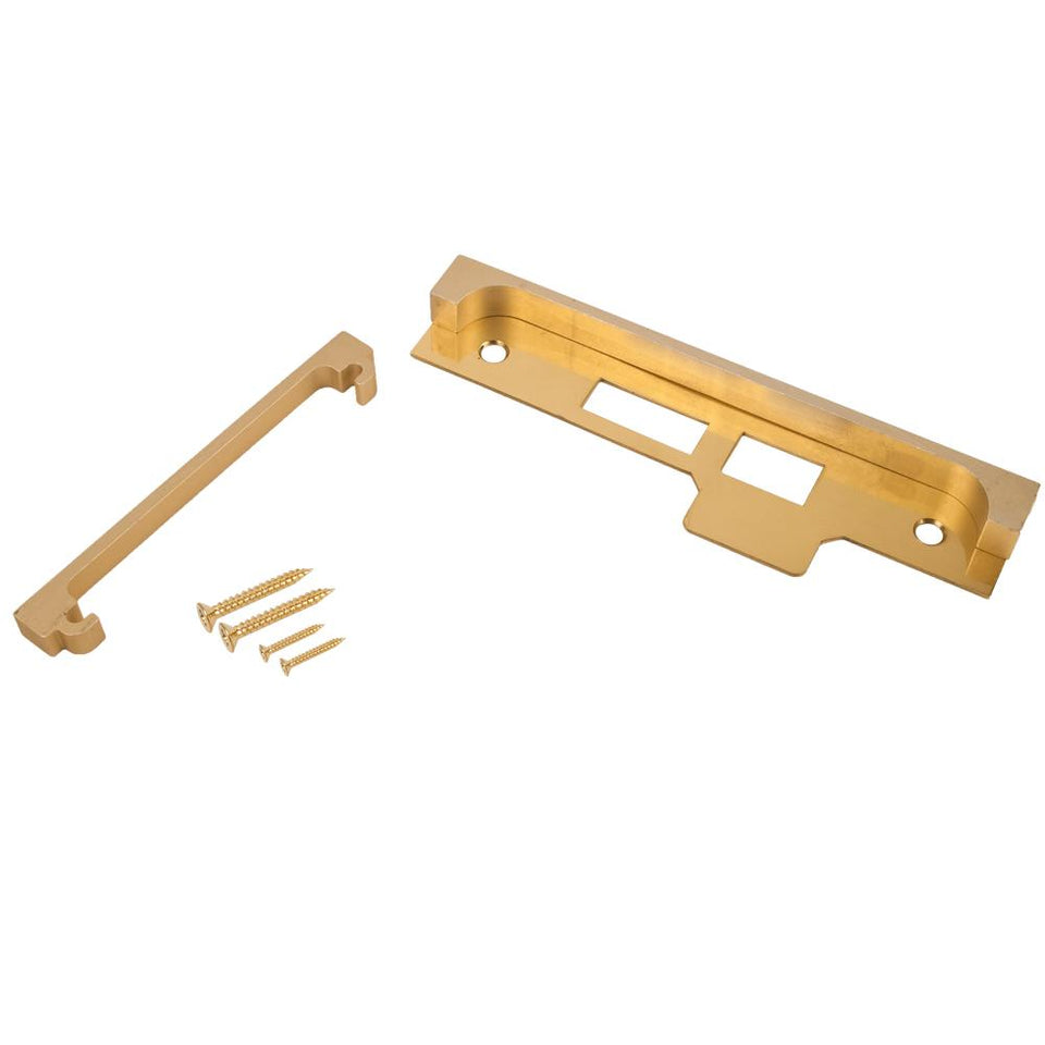 DIY & Tools - Union Component Mortice Repair Brass 173x46mm