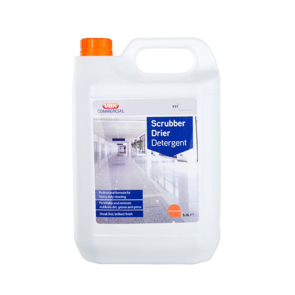 Vax Commercial Scrubber Drier Detergent Cleaner Liquid - 5L