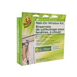 Duck Professional Nail-On Window Insulation Kit - Covers 6 Windows
