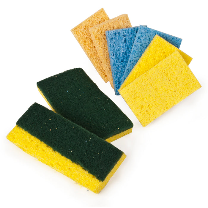 Swift Cleaning Sponges Pack of 8 Assorted