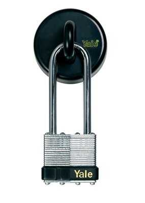 Yale Secure Keyed Wall/Floor Anchor Padlock