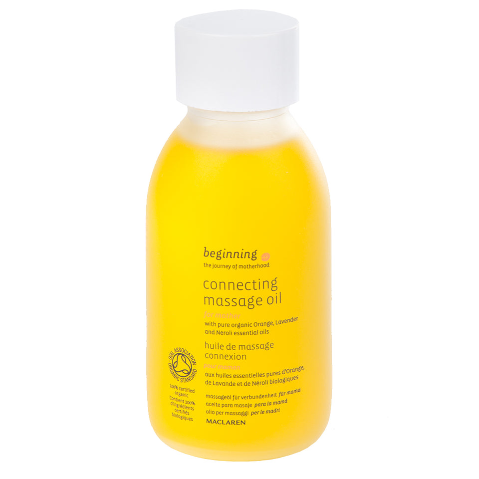 Baby & Child - Contacting Massage Oil - Orange - 100ml
