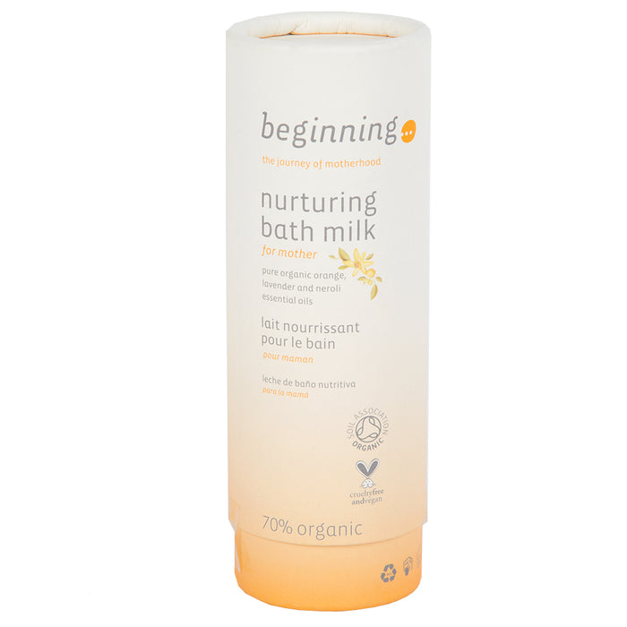 Maclaren Beginning Organic Nurturing Bath Milk - Orange - 100ml