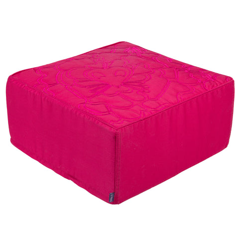 Luxurious Pet Cat Kitten Pet Bed Cushion - Washable -Cube-Pink -38.5cm