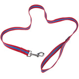 Pet Supplies - Pet Dog Lead & Clip Red/Blue - 1m - 2.5cm