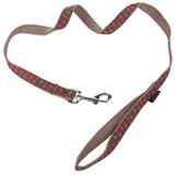 Pet Supplies - Pet Dog Lead & Clip Brown Anchor 1m - 1cm