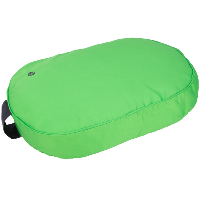 Pet Supplies - Dog Cat Pet Bed Cushion Small Oval - Green - 60 x 45 cm