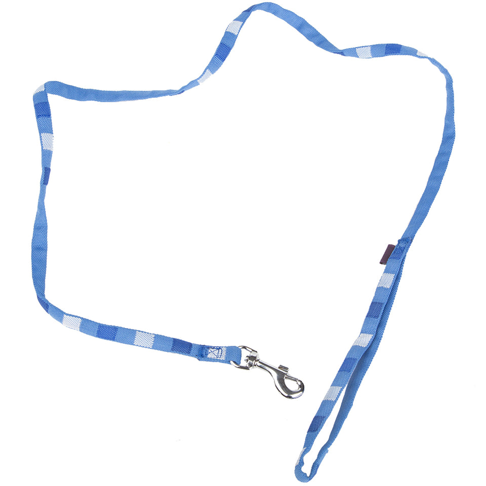 Pet Supplies - Pet Dog Lead Square Print Strap Small - Blue