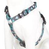 Pet Puppy Dog Harness Nylon Adjustable Triangle Strap -Small- Green