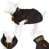 Pet Clothing - Pet Dog Outdoor Coat Winter Black 28 X Small