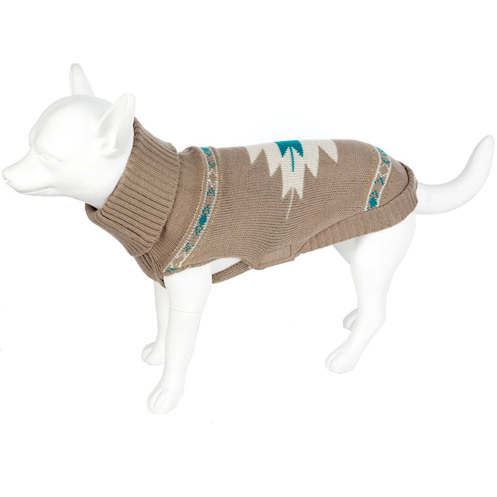 Pet Clothing - Washable Pet Dog Coat Beige - 50 X-Large
