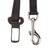 Pet Dog Seat Belt Clip Tether Black - 25.4 - 38cm