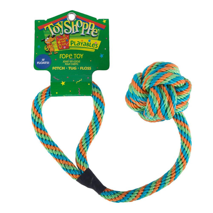 Pet Supplies - Pet Dog Rope Ball Play Toy
