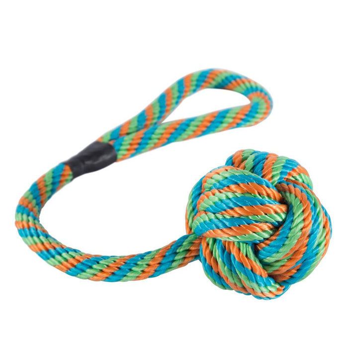 Pet Dog Rope Ball Play Toy