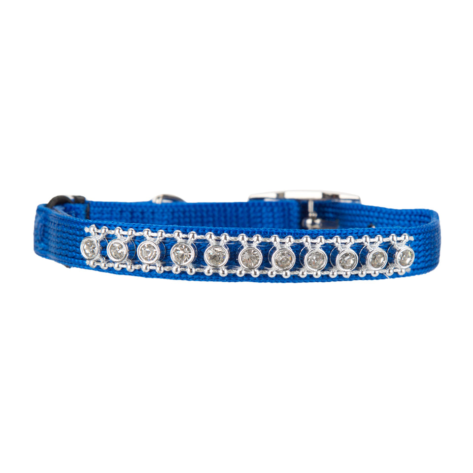 Pet Supplies - Pet Cat Collar With Bell Blue 25.4cm