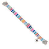 Pet Supplies - Pet Kitten Collar With Bell Multi Coloured