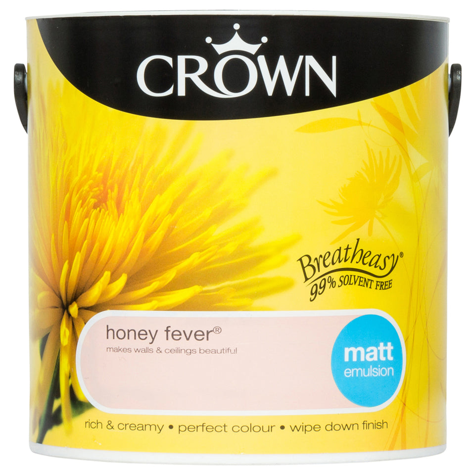 Paint - Crown Breatheasy Paint - Pale Orange - 2.5L