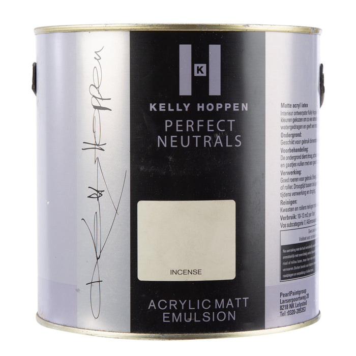 Paint & Varnish - Kelly Hoppen Acrylic Matt Emulsion Paint - Incense - 2.5L