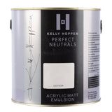 Paint & Varnish - Kelly Hoppen Paint - Cotton Acrylic - Matt - 2.5L