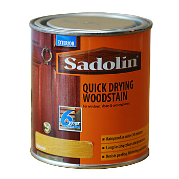 Paint & Varnish - Sadolin natural Quick Drying Woodstain 500ml