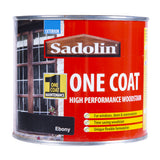 Paint & Varnish - Sadolin One Coat Woodstain - Ebony - 500ml
