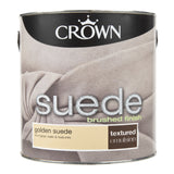 Paint & Varnish - Crown Silk Emulsion Paint - Golden Suede - 2.5L