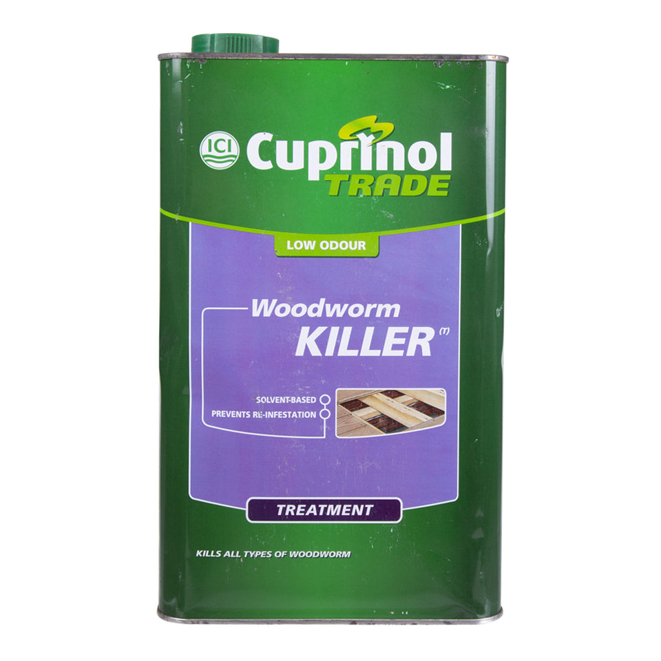Paint & Varnish - Cuprinol Woodworm Killer 5L
