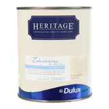 Paint & Varnish - Dulux Heritage Wood/Metal - Edwardian Lemon - 750ml