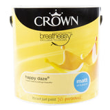 Paint & Varnish - Crown Emulsion Paint - Happy Daze - 2.5L