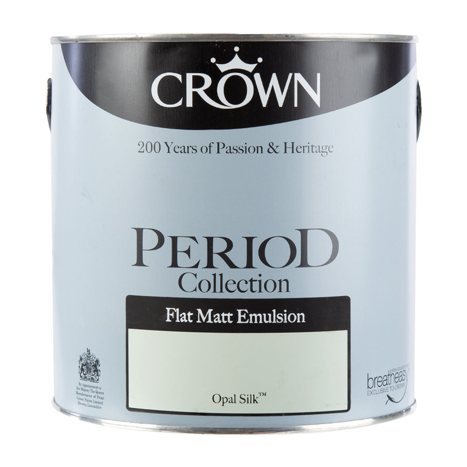 Paint & Varnish - Crown Period Collection Paint - Opal Silk - 2.5L