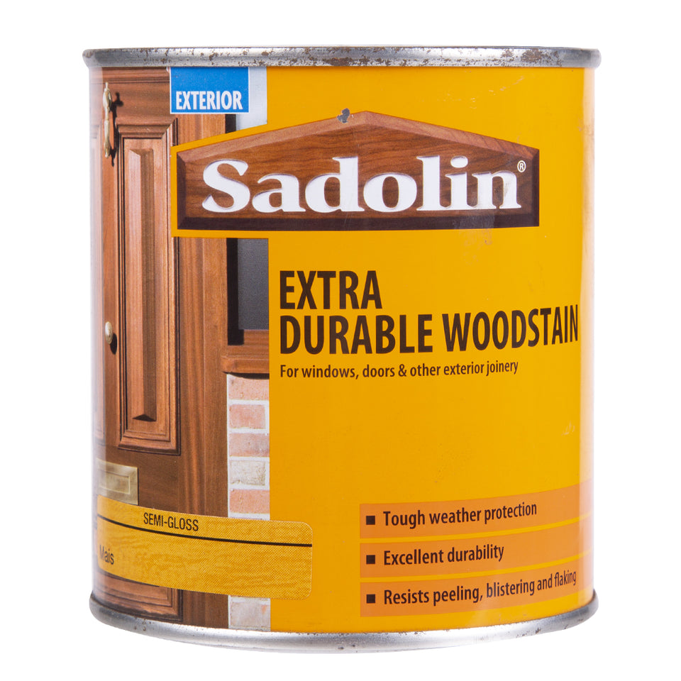 Paint & Varnish - Sadolin Extra Durable Woodstain Mais 500ml
