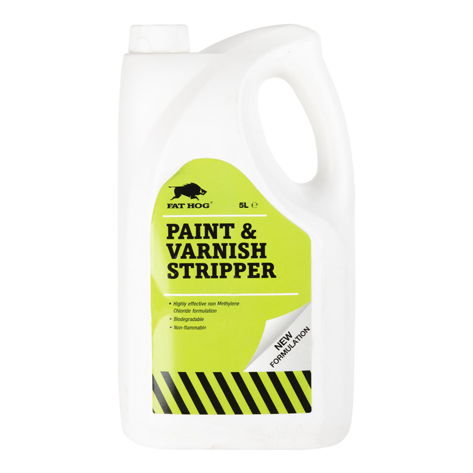 Paint & Varnish - Paint & Varnish Stripper - 5L