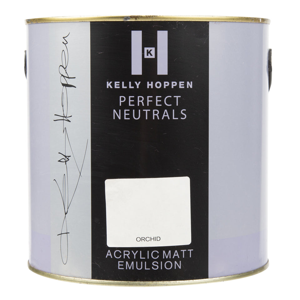 Paint & Varnish - Kelly Hoppen Matt Emulsion Paint - Orchid - 2.5L