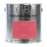 Paint & Varnish - Graham&Brown Emulsion Paint - Shanghai Red - 2.5L