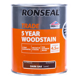 Paint & Varnish - Ronseal Woodstain - Dark Oak - 750ml