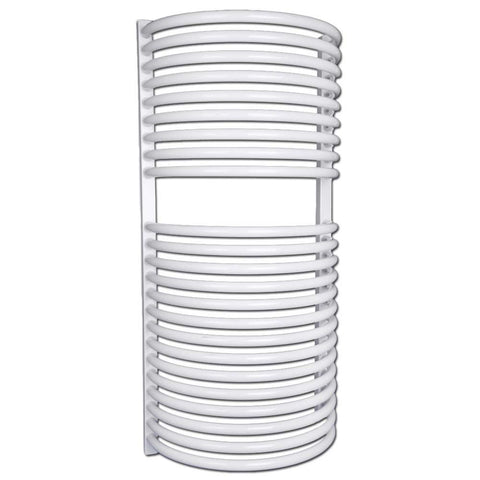 Bathroom Towel Radiator White - H 940 x W 460mm