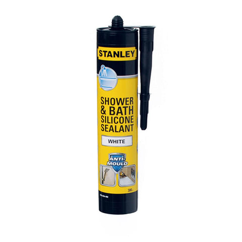Stanley Bath & Shower Sealant White