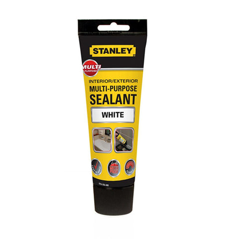 Stanley Multi Purpose Sealant & Adhesive Cartridge - White - 200ml