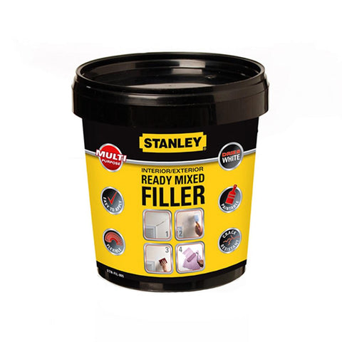 Stanley Multi Purpose Filler Tube - Ready Mixed - White - 1.2kg
