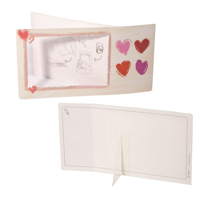 9x GBC PhotoPop Personal Photo Celebration Greeting Cards -Love Hearts