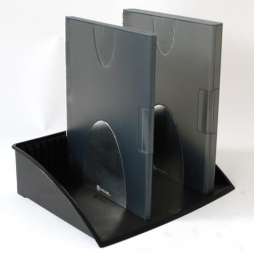 Acco Rexel Mobile Organisation Office Document Desk Tidy Tray - Black