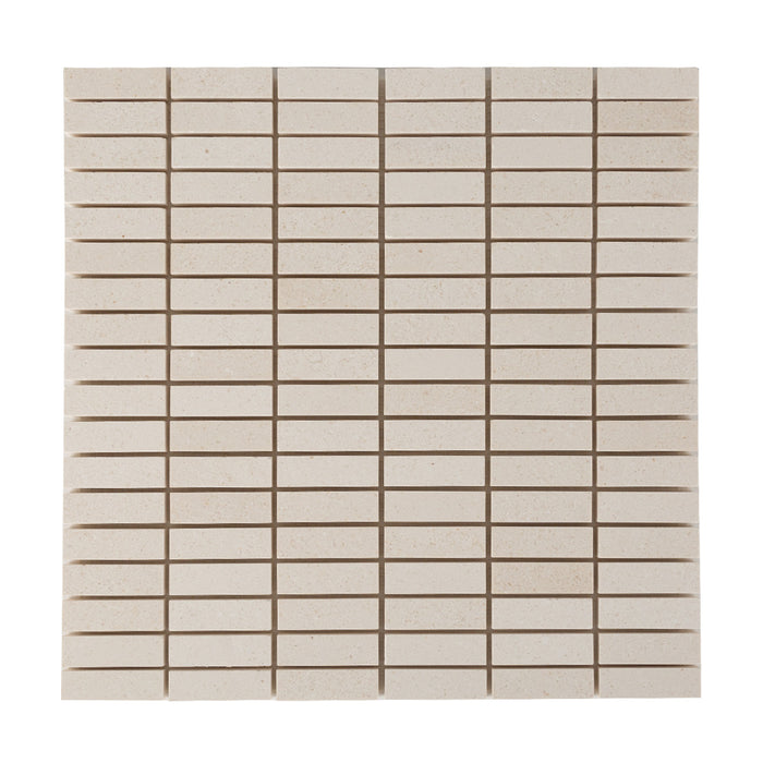 General - Bathroom & Kitchen Wall Mosaic Tiles - White, Grey, Slate - 30 x 30cm - Pack Of 11