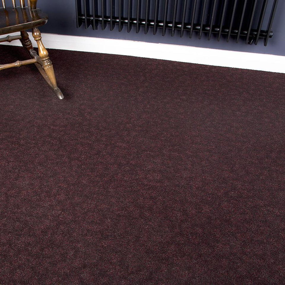 Carpet Tiles - Tessera Home/Office Flooring Black 4m2