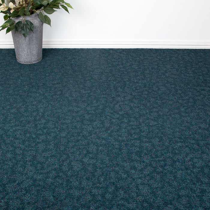 Carpet Tiles - Tessera Home/Office Flooring Blue 4m2