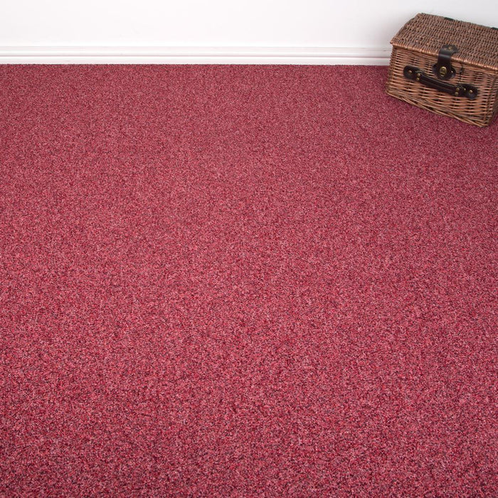 Carpet Tiles - Tessera Home/Office Flooring Red 3m2